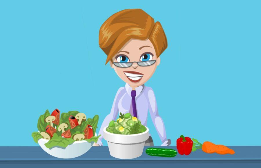 Zdrowe jedzenie a psychika samopoczucie