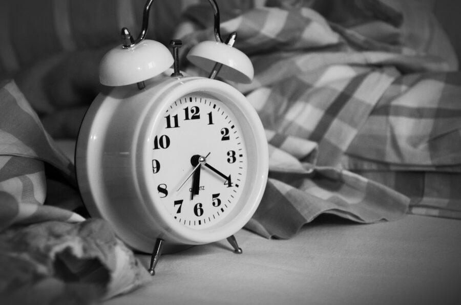 budzik dobry sen zdrowie